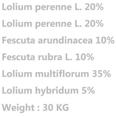 vidaXL Vejos sėklos, atsparios sausrai ir karščiui, 30kg