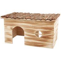 """TRIXIE Graužikų namas """"Natural Living Grete"""" 45x24x28 cm mediena"""