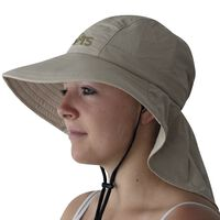 Travelsafe Skrybėlė, smėlio spalvos, UPF 50+