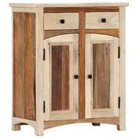 vidaXL Šoninė spintelė, 60x30x75cm, perdirbtos medienos masyvas