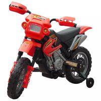 Vaikiškas Elektrinis Motociklas, Raudonas