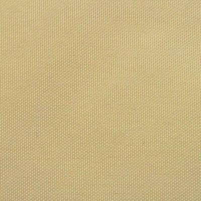vidaXL Balkono pertvara, Oksfordo audinys, 90x600 cm, smėlio sp.
