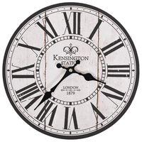 vidaXL Sieninis laikrodis virtuvei, 30cm, vintažinio dizaino, Londonas