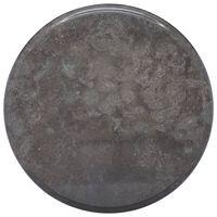 vidaXL Stalviršis, juodos spalvos, skersmuo 40x2,5cm, marmuras