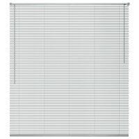 vidaXL Žaliuzės, aliuminis, 60 x 220 cm, sidabro spalvos