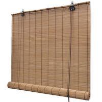 Rudas Roletas iš Bambuko 120 x 160 cm