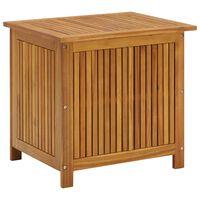 vidaXL Sodo daiktadėžė, 60x50x106cm, akacijos medienos masyvas
