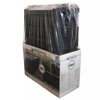 Nature kompostui skirta dėžė, 1200 L, juoda
