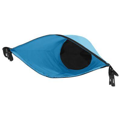 vidaXL Vandeniui atsparus krepšys, mėlynos spalvos, PVC, 10l