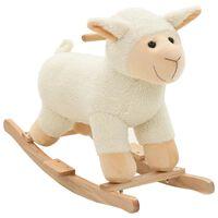 vidaXL Supamas gyvūnas, avis, pliušas, 78x34x58cm, baltas