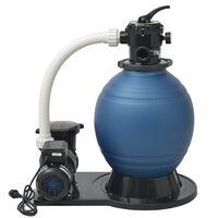 vidaXL Smėlio filtras su siurbliu, 1000 W, 16 800 l/val., XL