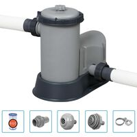 Bestway Flowclear Baseino siurblys su filtru, 5678 l/val.