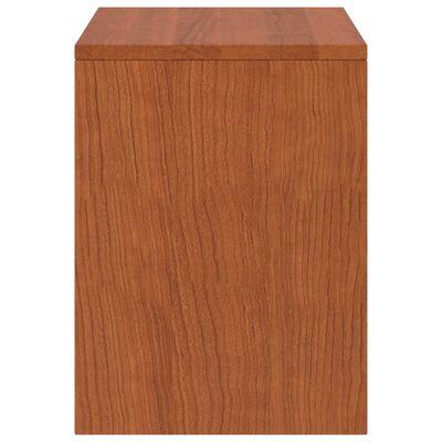 vidaXL Naktinė spintelė, medaus ruda, 35x30x40cm, pušies masyvas