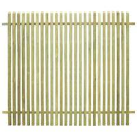 vidaXL Sodo tvora, 170x150cm, impregnuota pušies mediena