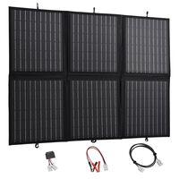vidaXL Sulankstomos saulės energijos plokštės įkroviklis, 120W, 12V