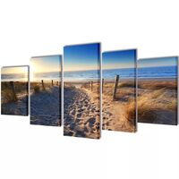 "Fotopaveikslas ""Paplūdimys"" ant Drobės 200 x 100 cm"