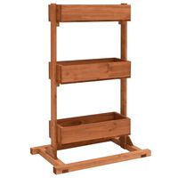 vidaXL Lovelis, 52x30x78cm, eglės mediena