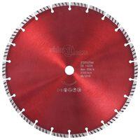 vidaXL Turbo deimantinis pjovimo diskas, plienas, 300mm