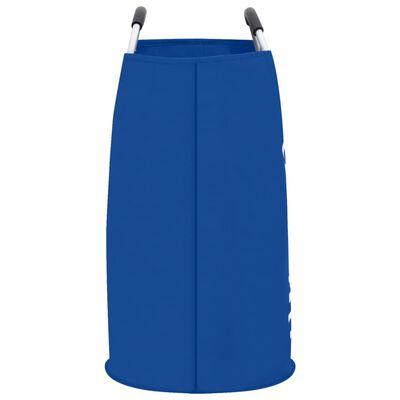 vidaXL Skalbinių rūšiavimo krepšiai, 2vnt., mėlynos spalvos