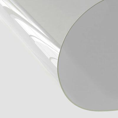 vidaXL Stalo apsauga, permatoma, 140x90cm, 2mm, PVC