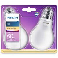 Philips LED lemputės Classic, 2vnt., 7W, 806 liumenai, 929001243031