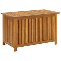 vidaXL Sodo daiktadėžė, 90x50x58cm, akacijos medienos masyvas