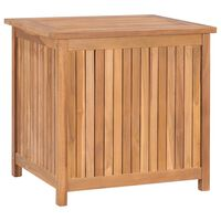 vidaXL Sodo daiktadėžė, 60x50x58cm, tikmedžio medienos masyvas