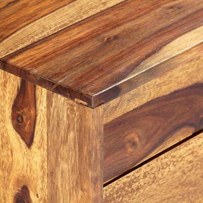 vidaXL Šoninė spintelė, 118x30x60cm, rausvosios dalbergijos med. mas.