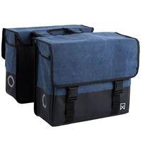 Willex Dviračio krepšiai, 40 l, mėlyna ir matinė juoda