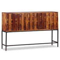 vidaXL Spintelė, tvirta rausvosios dalbergijos mediena, 120x30x80cm