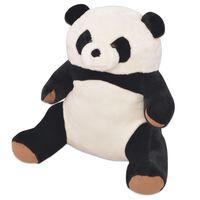 vidaXL Minkšta pliušinė panda, XXL, 80 cm