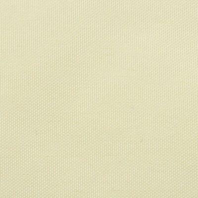 vidaXL Tentas nuo saulės, oksfordo aud., kvadratas, 2x2m, kreminė sp.