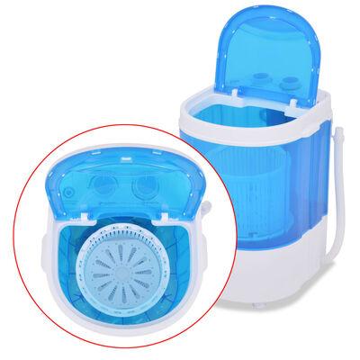 vidaXL Mini skalbimo mašina, dviejų skyrių, 5,6kg