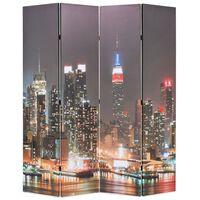 vidaXL Kambario pertvara, 160x170 cm, Niujorkas naktį