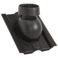 vidaXL Stoginis ventiliatorius, juodos spalvos