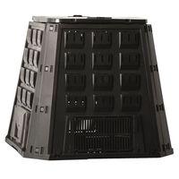 Nature Komposto dėžė, juoda, 400 l, 6071480