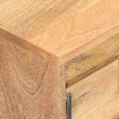 vidaXL Televizoriaus spintelė, 116x30x35cm, mango medienos masyvas