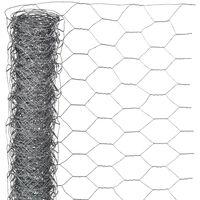 Nature Vielinis tinklas, 0,5x5m, galvanizuotas plienas, 25mm