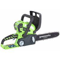 Greenworks grandininis pjūklas, be 40 V baterijos, G40CS30, 30 cm