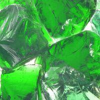 vidaXL Akmenys gabionui, stiklas, žalia spalva, 60-120 mm, 25 kg