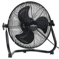 vidaXL Pastatomas ventiliatorius, juodas, 45cm, 3 greičiai, 100W