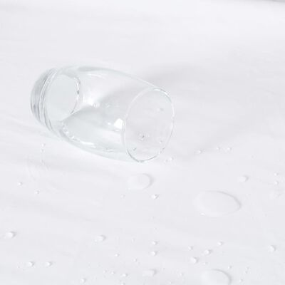vidaXL Paklodės su guma, 2vnt., baltos, 100x200cm, medvilnė