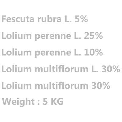 vidaXL Gazon vejos sėklos, 5kg