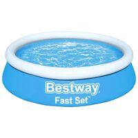 Bestway Fast Set Pripučiamas baseinas, mėlynas, 183x51cm, apskritas