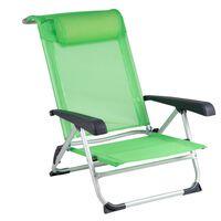 Bo-Camp Paplūdimio kėdė, žalia, aliuminis