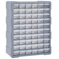 vidaXL Stelažas su 60 stalčių, 38x16x47,5cm