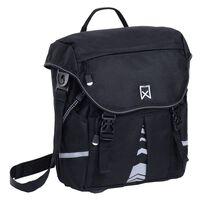 Willex Dviračio krepšys S 1200, juodos spalvos, 10L