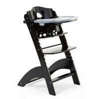 CHILDHOME 2-1 Maitinimo kėdutė Lambda 3, juodos spalvos
