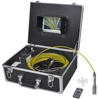 Vamzdžių apžiūros kamera, 30m, su skaitm. vaizd. įr. vald. dėže