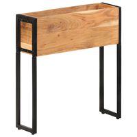 vidaXL Lovelis, 60x20x68cm, akacijos medienos masyvas